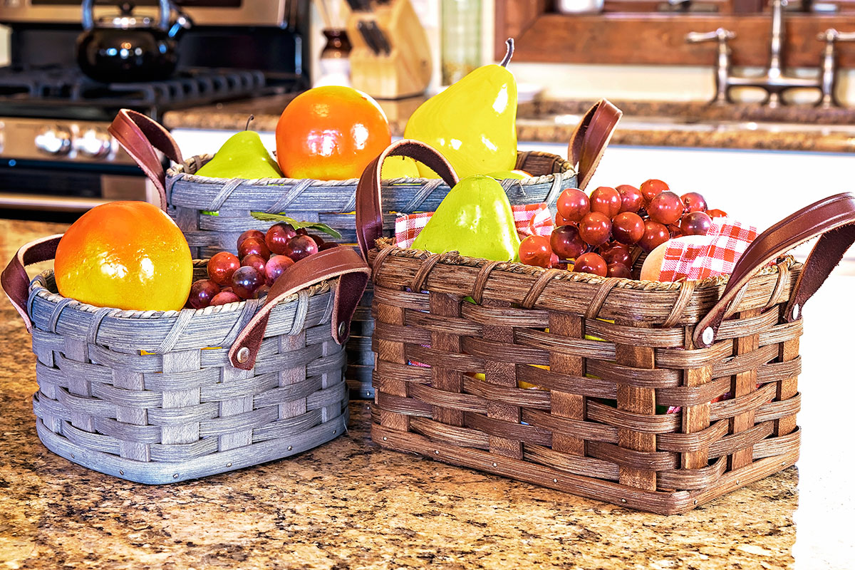 Amish Made Fruit Basket Collection