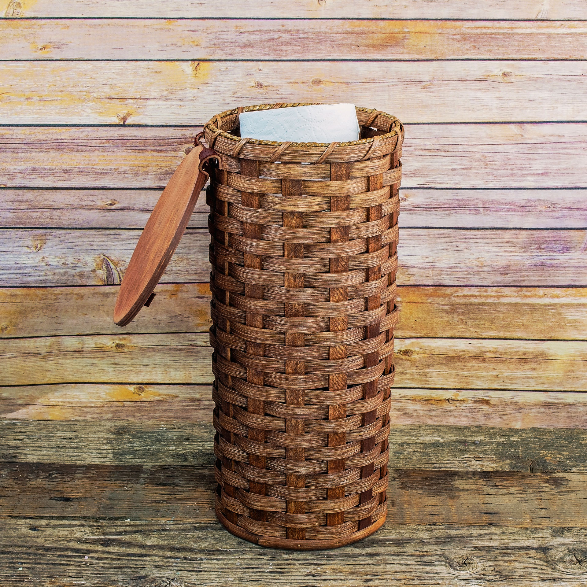4 Roll Toilet Paper Basket My Amish Friends